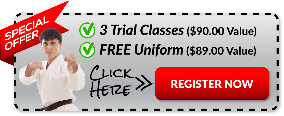 Martial Arts Special Trial Offer